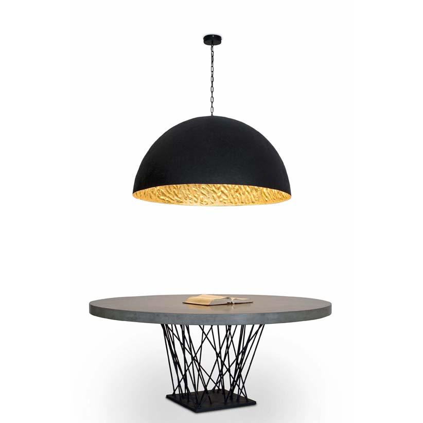 faro barcelona magma g lampe suspension noir ref 29789. Black Bedroom Furniture Sets. Home Design Ideas