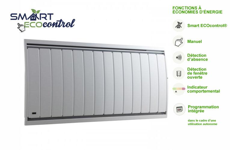 air lec air dou smart ecocontrol horizontal vertical bas air lec radiateur lectrique. Black Bedroom Furniture Sets. Home Design Ideas