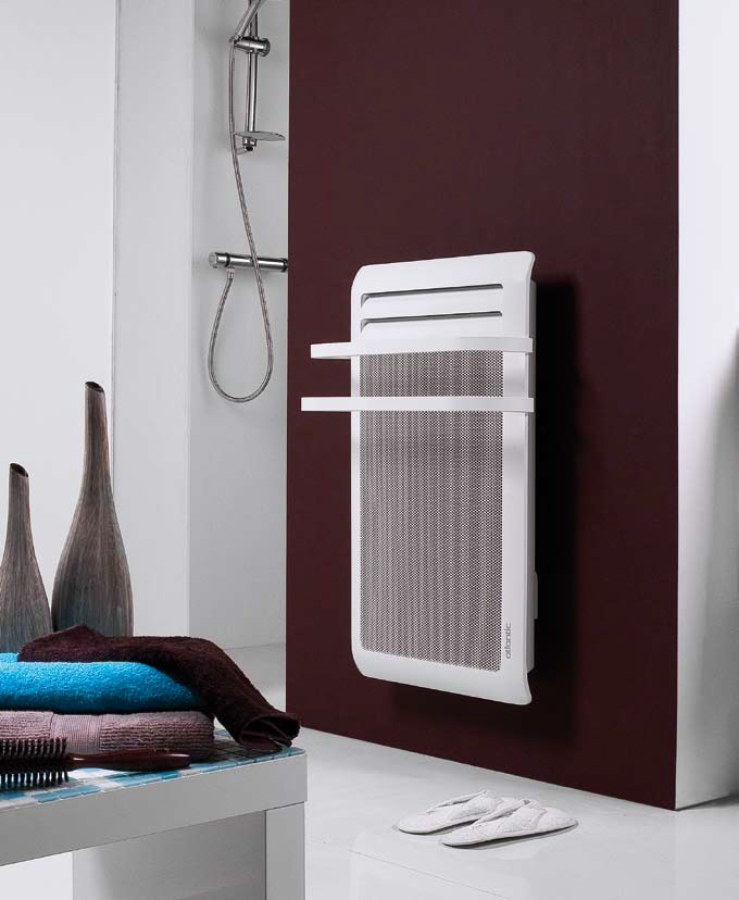 reer Le radiateur thermique 2en1 chauffage rayonnant blanc//gris