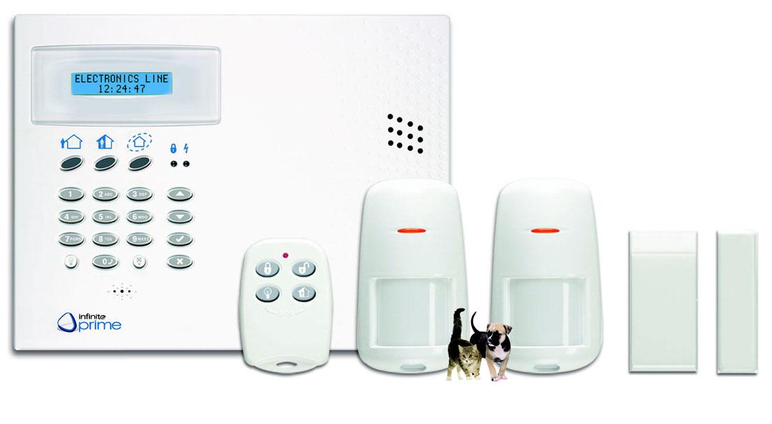 electronics line centrale d 39 alarme kit infinite prime 4 electronics line kit prime 4. Black Bedroom Furniture Sets. Home Design Ideas