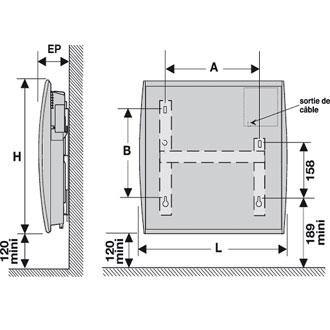 panneau rayonnant 1000w quelle surface. Black Bedroom Furniture Sets. Home Design Ideas